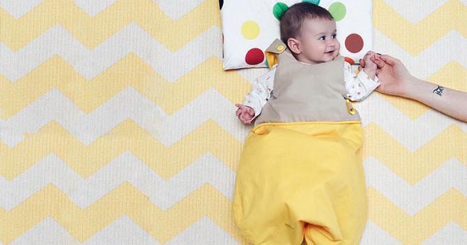 saquinho para bebê dormir chata de galocha